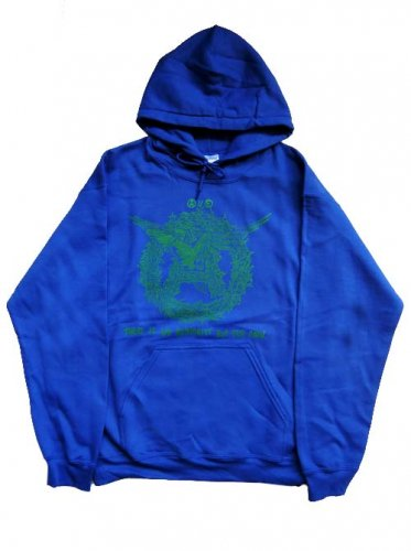 <img class='new_mark_img1' src='https://img.shop-pro.jp/img/new/icons16.gif' style='border:none;display:inline;margin:0px;padding:0px;width:auto;' />PARADOX / A BIRD PULLOVER HOOD - BLUE