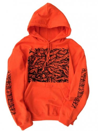 ESCAPE / MUMMY HOODY - ORANGE