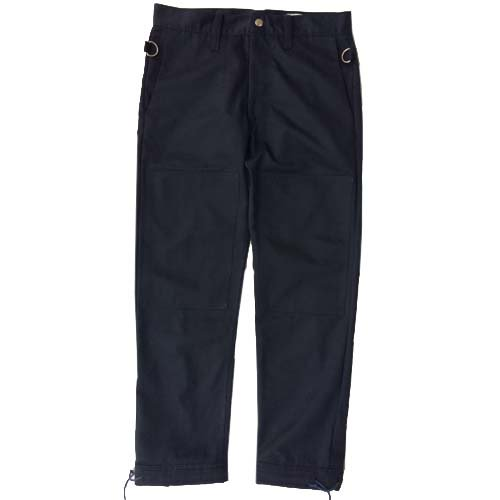 ESCAPE / ZIP PANTS - NAVY