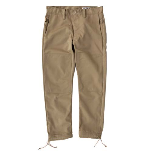ESCAPE / ZIP PANTS - BEIGE