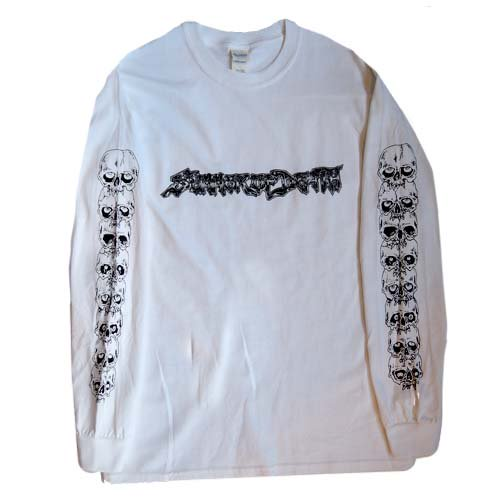 SUMMER OF DEATH / LONG SLEEVE T-Shirts - WHITE