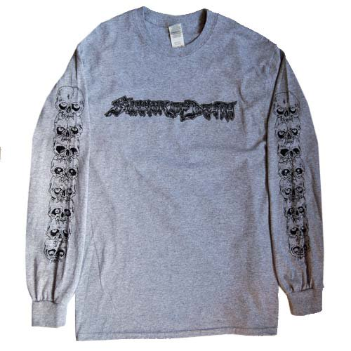 SUMMER OF DEATH / LONG SLEEVE T-Shirts - GRAY