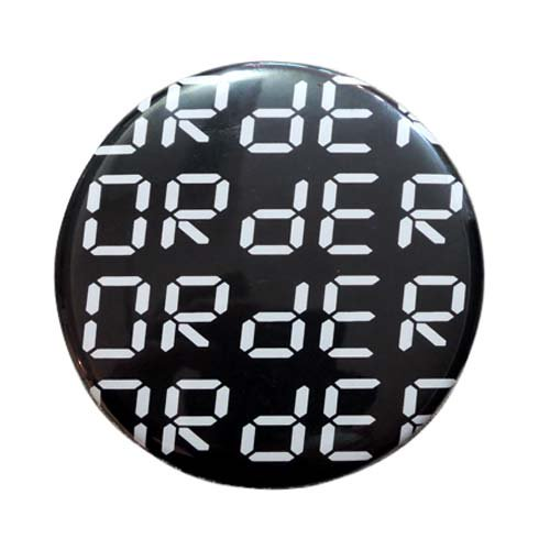 ORdER / ORdER LOGO BADGE - WHITE