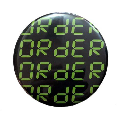 ORdER / ORdER LOGO BADGE - GREEN