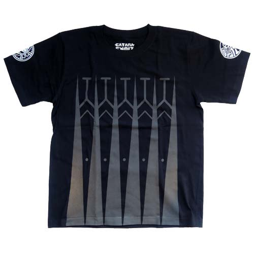 "CATANA & E'noiz / collaboration Tee - ""C'noiz""  - BLACK"