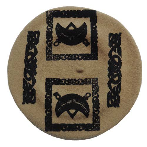 SEDITION / Pictish Symbol BERET - BEIGE