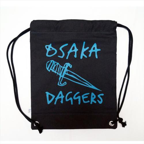 OSAKA DAGGERS / 2WAY KNAPSACK - BLACK