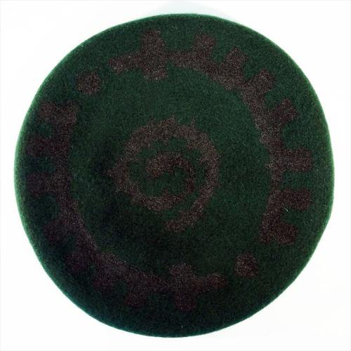 ACT x INSIDE BOUND / REVERSIBLE BERET - GREEN