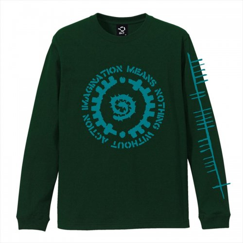 予約商品 ACT x INSIDE BOUND / GLYPH LONG SLEEVE TEE -FOREST