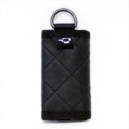 ACT / OILED MINI WALLET - BLACK