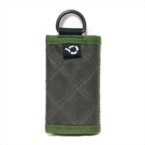 予約商品 ACT / OILED MINI WALLET - OLIVE