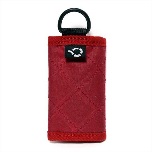 ACT / OILED MINI WALLET - RED