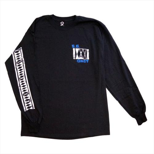 予約商品 ACT / S.G. LONG SLEEVE TEE - BLACK
