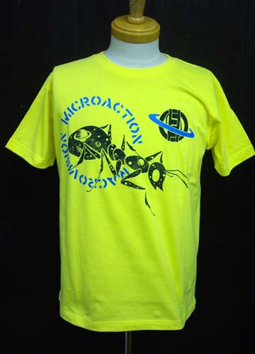 MICRO ACTION / 昆宙 T-shirts-Yellow