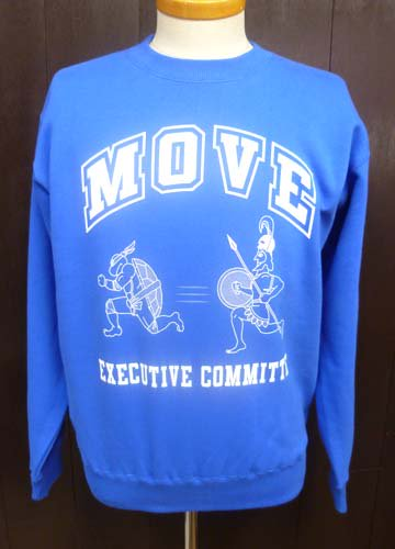 MOVE CREW NECK SWEAT/Blue