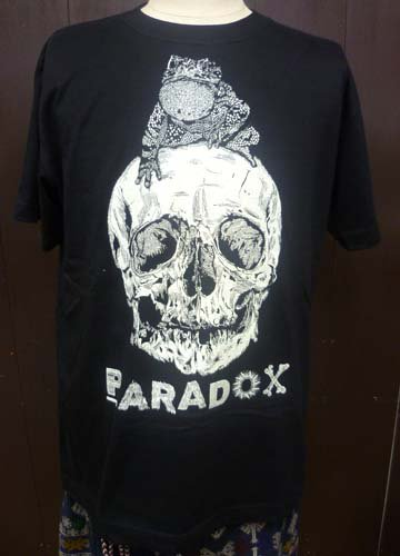 PARADOX / TOAD ON THE SKULL TEE-Black
