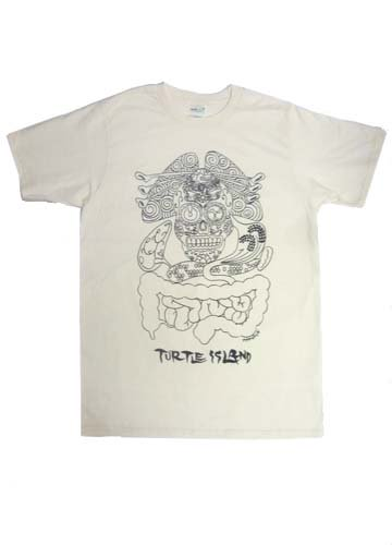 TURTLE ISLAND / この世讃歌 T-shirts-NATURAL