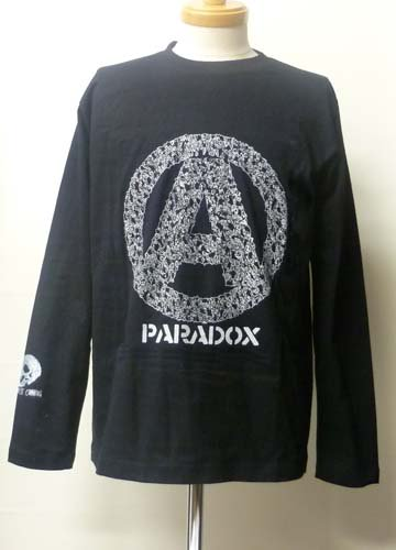 <img class='new_mark_img1' src='//img.shop-pro.jp/img/new/icons16.gif' style='border:none;display:inline;margin:0px;padding:0px;width:auto;' />PARADOX / A LONG SLEEVE T-shirts-Black