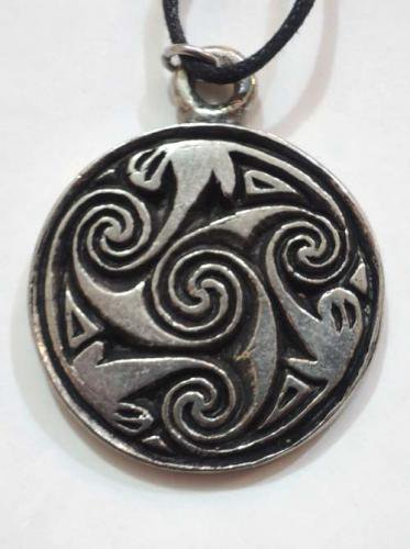 Celtic pendants / Pictish Spiral