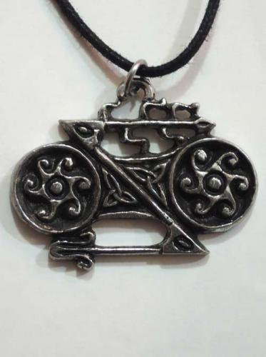 Celtic pendants / Double Disc and Z Rod