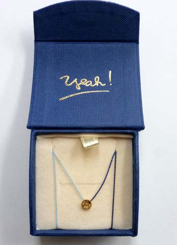 PHINGERIN / TINY A NECKLACE・Gold