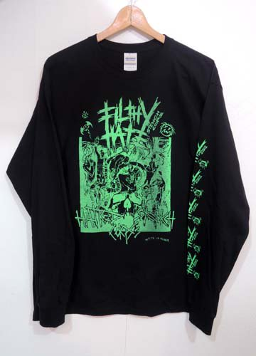 FILTHY HATE / STENCH CORE LONG SLEEVE Tshirts
