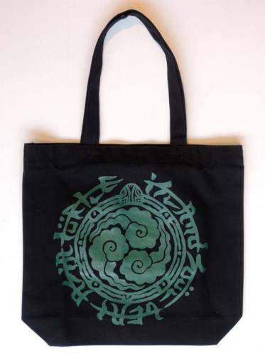 TURTLE ISLAND / New Logo TOTE BAG - BLACK