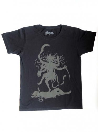 CATANA / Dancing KALI T-shirts - Black x Reflector