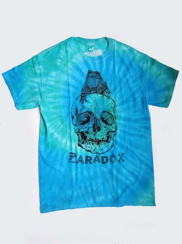 PARADOX / ONE OFF TOAD ON THE SKULL T-Shirts - MEDIUM