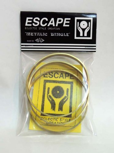ESCAPE / METALIC BANGLE - 6mm