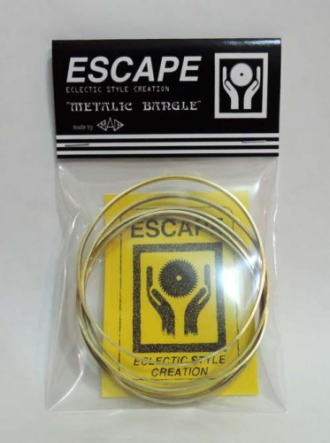 ESCAPE / METALIC BANGLE - 3mm