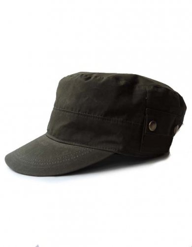 CATANA /  FLAP WORK CAP - KHAKI
