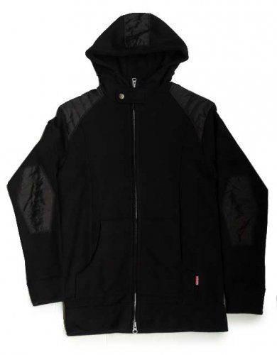 PUNK TRIBE / OPEN MIND PARKA - BLACK