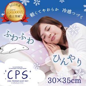クールプレミアム スリープマット 30×35cm(枕サイズ)【寝具/熱中症対策/ペット】