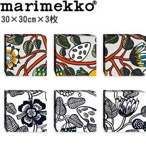 マリメッコ ファブリックパネル ティアラ(Tiara)300×300×3枚【北欧雑貨/北欧生地】