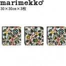 マリメッコ ファブリックパネル ピエニ ティアラ(Pieni Tiara)300×300×3枚【北欧雑貨】