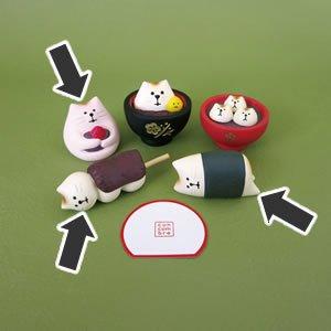 デコレ(DECOLE)concombre もち猫 各種【インテリア雑貨】