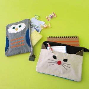 デコレ(DECOLE)HAPPY cat day フラットポーチ【ファッション収納】