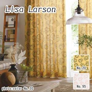 リサ・ラーソン(Lisa Larson)既製カーテン ライオン 1枚入【おしゃれ/北欧インテリア】