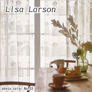 リサ・ラーソン(Lisa Larson)レースカーテン ミンミ 1枚入【おしゃれ/北欧インテリア】