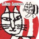 リサ・ラーソン(Lisa Larson)チェアパッド マイキー【おしゃれ/北欧インテリア】の商品写真
