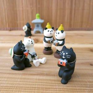 デコレ(DECOLE)concombre 黒猫カメラマン【インテリア雑貨】