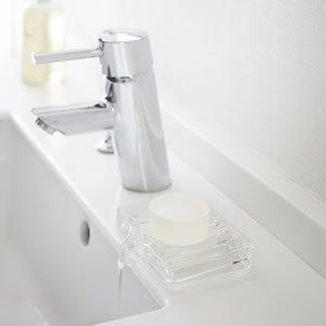 水が流れるソープトレー ヴェール【お風呂用品】