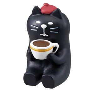 デコレ(DECOLE)concombre 黒猫コーヒー【インテリア雑貨/置物】