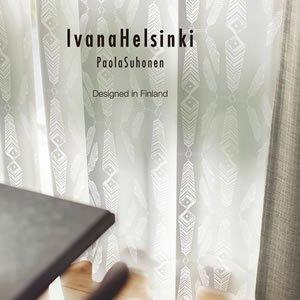 イヴァナ ヘルシンキ(Ivana Helsinki)レースカーテン インディアンサマー ボイル(Indian Summer voile)1枚入【おしゃれ/北欧カーテン…