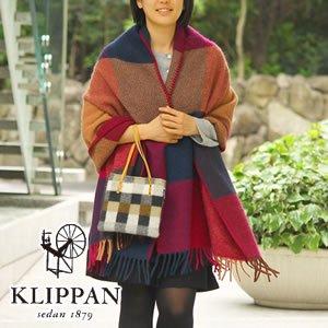 クリッパン(KLIPPAN)ストール イネス ポケット無し【おしゃれ/北欧ファッション】
