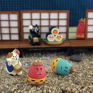 デコレ(DECOLE)コンコンブル 豆まき三毛猫【節分/置物】