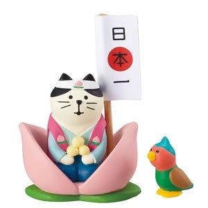 デコレ(DECOLE)コンコンブル 桃太郎猫どんぶらこセット【こどもの日/五月人形】