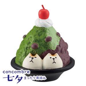 デコレ(DECOLE)コンコンブル もち猫 宇治金時【置物】