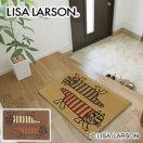 リサ・ラーソン(Lisa Larson)玄関マット ツインマイキー【おしゃれ/北欧インテリア】